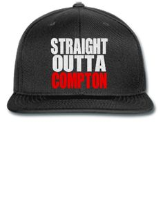 STRAIGHT OUTTA COMPTON - Snapback Hat fed3d81e29a