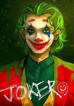 S-611 Hot Joker 2019 Joaquin Phoenix Movie DC Comics Poster Wall Art