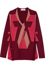 Peter Pilotto Intarsia stretch-knit sweater