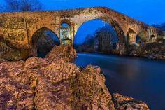 Cangas de Onís, Spain  beautiful bridges