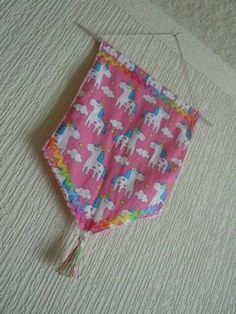 Check out this item in my Etsy shop https://www.etsy.com/uk/listing/548857485/pink-unicorns-wall-hanging