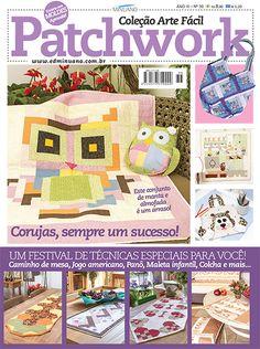 Artesanato - Apliquê - Patchwork : COL ARTE FACIL PATCHWORK 036 - Editora Minuano