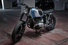 Bmw Brat Style #motorcycles #motos #bratstyle | caferacerpasion.com