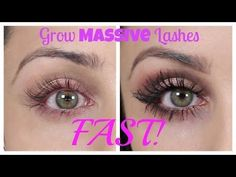 How To Grow Massive Eye Lashes FAST - Hey guys! Here's a video all about my eyelashes and how to grow super long eyelashes, naturally!