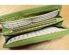 DIY Fabric Wallet for Women Picture Tutorial    Handmade Diya    use google translate