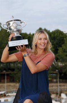 Roland Garros Trophy Shoot 2012