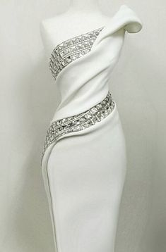 36 Trendy Wedding Reception Dress For Bride Bling Elegant Dresses, Pretty Dresses, Beautiful Dresses, Elegant White Dress, Gorgeous Dress, Beautiful Evening Gowns, Affordable Dresses, Look Fashion, Womens Fashion