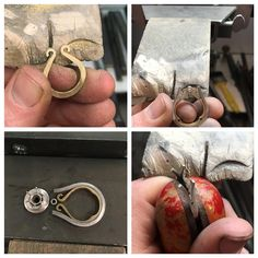 """332 Likes, 11 Comments - Harry Rose (@harryrosejewellery) on Instagram: """"Now it's time to solder it all together then start shaping the platinum #platinum #18carat…"""""""