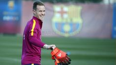 Training session (18/01/16) Ter Stegen! | FC Barcelona