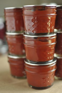Great post on tomato paste by Marisa | Food in Jars, via Flickr.  Love making tomato paste!