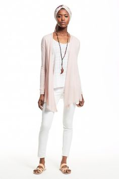 enjoy 20% off this pink cashmere cardigan with code: SUMMER20