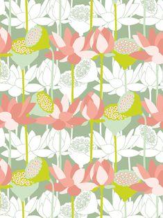 Pattern Design - Lara Brehm by Alexandra Blud Textiles, Textile Patterns, Print Patterns, Pattern Images, Vector Pattern, Cute Pattern, Pattern Art, Drawing, Elephant Photography