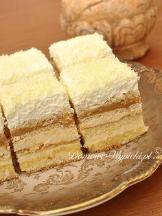 Hobby: Damskie pasje i hobby. Odkryj i pokaż innym Twoje hobby. Dessert Cake Recipes, Sweets Cake, Sweets Recipes, No Bake Desserts, Baking Recipes, Delicious Desserts, Polish Cake Recipe, Polish Desserts, Different Cakes