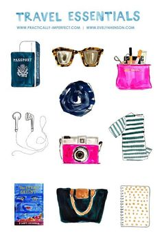 Travel Essentials // Carry On Essentials // What to Pack // Practically Imperfect // Evelyn Henson