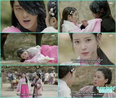 prince drop hae so from the horse after saving her - Moon Lovers: Scarlet… Joon Gi, Lee Joon, Scarlet Heart Ryeo Funny, Iu Moon Lovers, Korean Drama Movies, Young Prince, Flower Boys, Save Her, Body Care