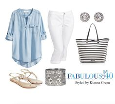 What to Wear Shopping This Summer | Fabulous After 40