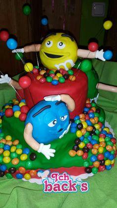 M&m's torte