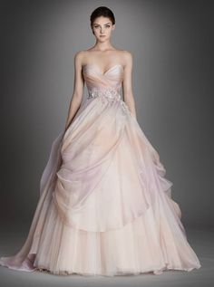 Lazaro Wedding Dresses 2015 Collection Part I - MODwedding