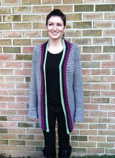 Miss Cosby Sweater PDF Crochet Pattern. $4.99, via Etsy.