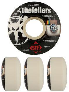 #Bones STF #Fellers #Hashtag #Skateboard #Wheels $28.99