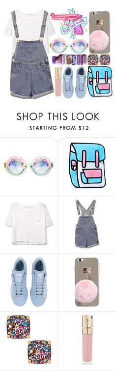 """""""Fight like a girl"""" by ginga-ninja ❤ liked on Polyvore featuring MANGO, adidas, Kate Spade, Smith & Cult and Zone"""