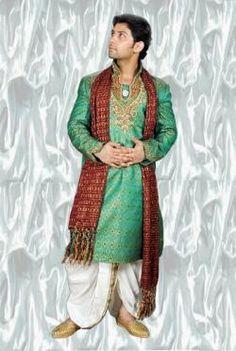 Indian men clothing: Dhoti Kurta