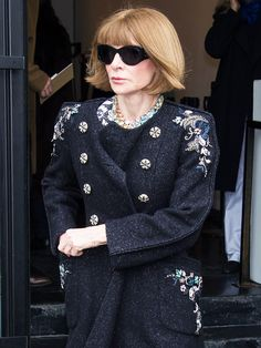 At the close of New York Fashion Week, Anna Wintour gives her feedback on what she saw walk the runways. Anna Wintor, Classy Women, Classy Lady, Anna Wintour Style, Fashion Editor, Who What Wear, Well Dressed, Revenge, Vogue