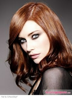 Pictures: Copper Hair Color - http://haircolorideasforyou.com/copper-hair-color