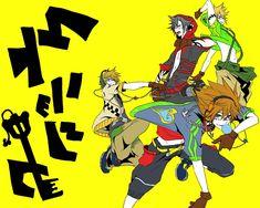 Kingdom Hearts & Vocaloid...?!