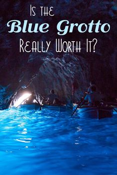 Blue Grotto, Capri...Is it really worth it? #bluegrotto #italy #capri #sorrento