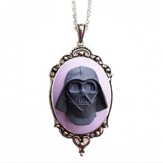 Darth Vader Cameo Necklace | Couture by Lolita