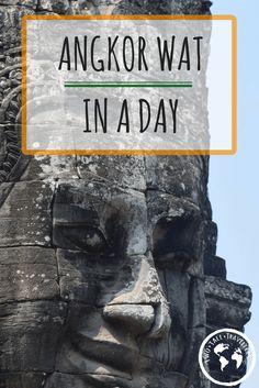 If you are in Cambodia then it is definitely a recommended visit. We only spent a day seeing Angkor Wat - here's how we did it.