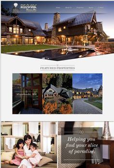 Remax collection web design