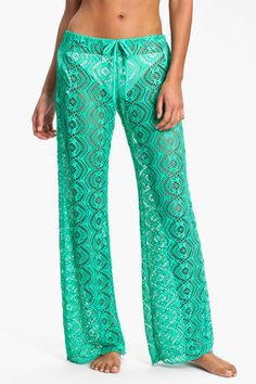 Becca Crochet Cover Up Pants   Nordstrom