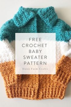 7b570944649f 1193 Best Crochet  Baby Sweaters images in 2019