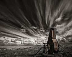 """500px / Photo """"Used and Forgotten (Mono) """" by Þorsteinn H Ingibergsson - Iceland"""