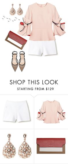 """""""Untitled #109"""" by jen-1-1 ❤ liked on Polyvore featuring Lacoste, Roksanda and Marni"""