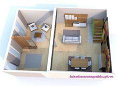 Interiores e Companhia: #sala  #openspace #loft