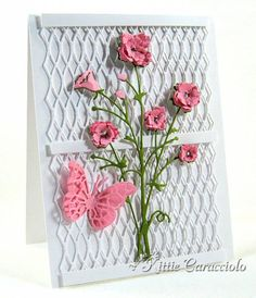 Bella Bouquet and Trellis Border by kittie747 - Cards and Paper Crafts at Splitcoaststampers
