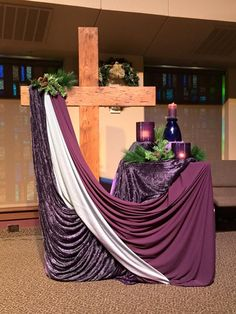 Image result for advent decorations for church