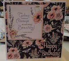 Sue Wilson, Paper Tree, Anna Griffin, Friend Birthday, Hobbies And Crafts, Die Cutting, Beautiful Day, Butterflies, Card Ideas