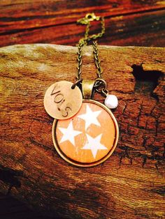 Orange Tri-Star Tennessee Necklace - show your love for Tennessee and the Vols with this beautiful tri-star necklace. Available in Blue/Bronze, Blue/Silver, Orange/Bronze,… Tennessee Game, Moving To Tennessee, Tennessee Girls, Tennessee Apparel, Tennessee Volunteers Football, Tennessee Football, University Of Tennessee, Tn Vols, Plunder Jewelry