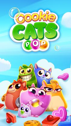 Cookie Cats Pop v1.0.7 [Mod] Apk Mod  Data http://www.faridgames.tk/2017/03/cookie-cats-pop-v107-mod-apk-mod-data.html