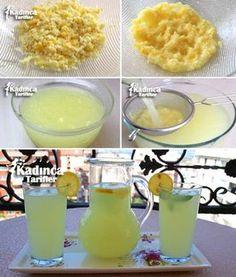Limonata Tarifi Iftar, Ramadan Desserts, Turkish Kitchen, Turkish Recipes, Homemade Beauty Products, Summer Cocktails, Bon Appetit, Lemonade, Dessert Recipes