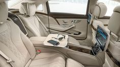 S600 MAYBACH backseat