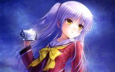 Download wallpapers Charlotte, Yuu Otosaka, 4k, season 2, Japanese anime