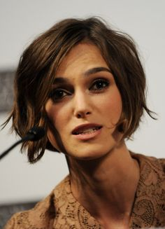 """Keira Knightley Photos Photos - Actress Keira Knightley attends the """"Never Let Me Go"""" press conference during 54th BFI London Film Festival at the Vue West End on October 13, 2010 in London, England. - Never Let Me Go - Press Conference: 54th BFI London Film Festival"""