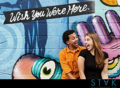 Carly + Johnny's Colorful #Engagement Photos in Brooklyn, NY www,getstak.com
