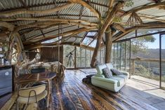 Providing guests with breathtaking views of Bowen's Creek Gorge and Blue Mountains rainforest, this luxury residence in Bilpin, New South Wales, features a spa, a kitchenette, and a fireplace. Set on 600 acres of private land, this secluded treehouse is the perfect place to become one with nature, thanks to its ideal location between two national parks. From $729/night; airbnb.com