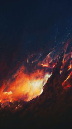 Dark, space, clouds, art, 720x1280 wallpaper